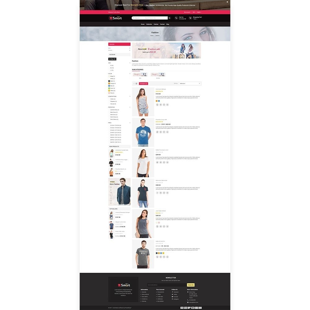 theme - Mode & Chaussures - Fashion Smart Store - 4