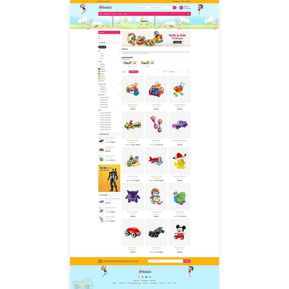 theme - Bambini & Giocattoli - Toys Smart Store - 3