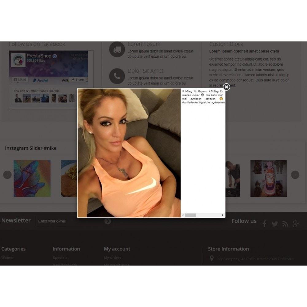 module - Produits sur Facebook & réseaux sociaux - Instagram slider block - 3