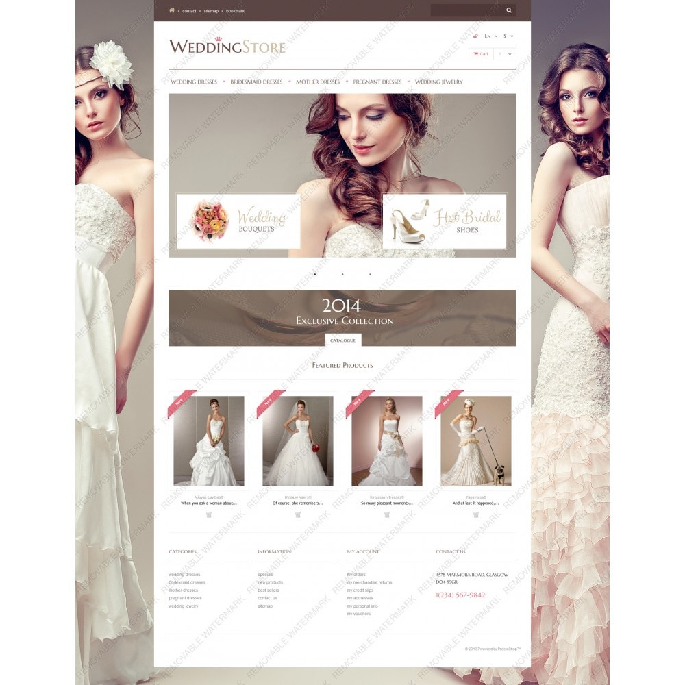 theme - Mode & Chaussures - Wedding Store - 3
