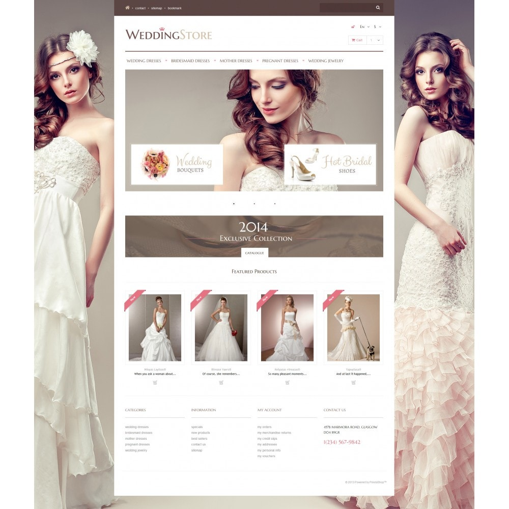 theme - Mode & Chaussures - Wedding Store - 4