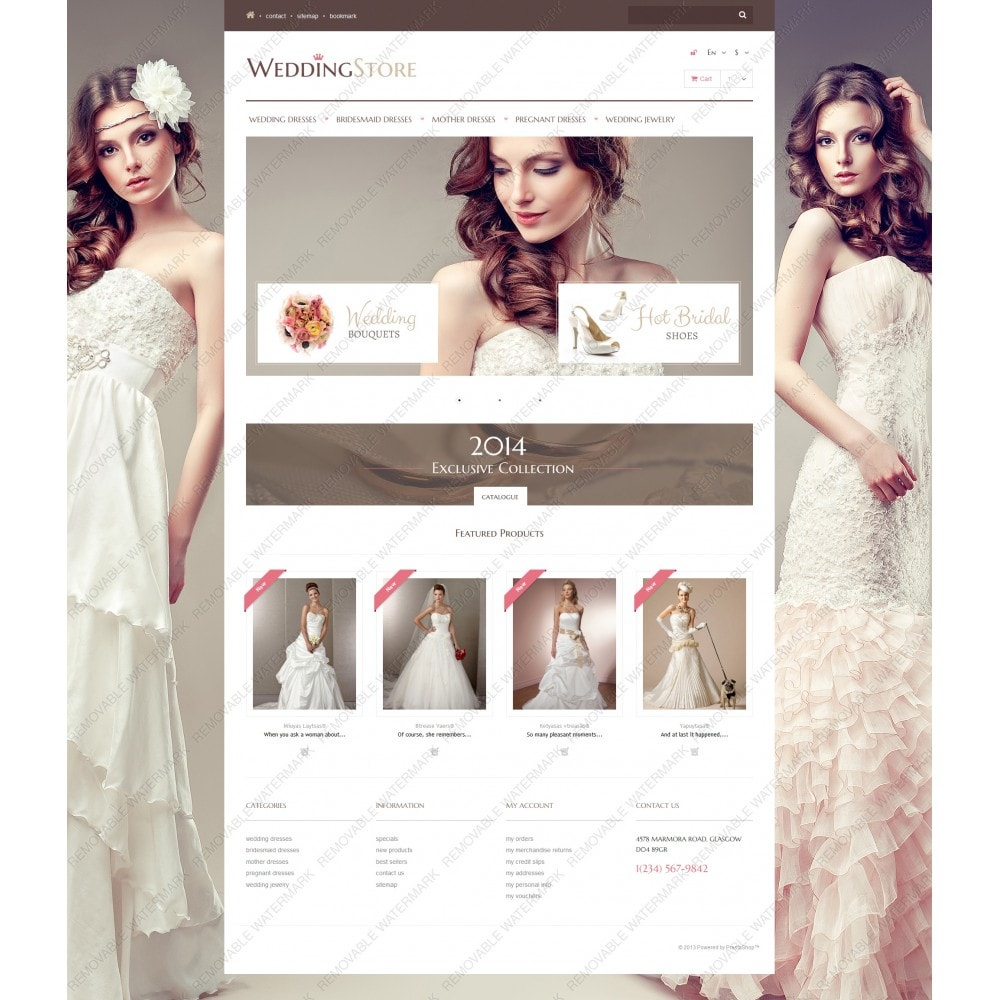 theme - Mode & Chaussures - Wedding Store - 5