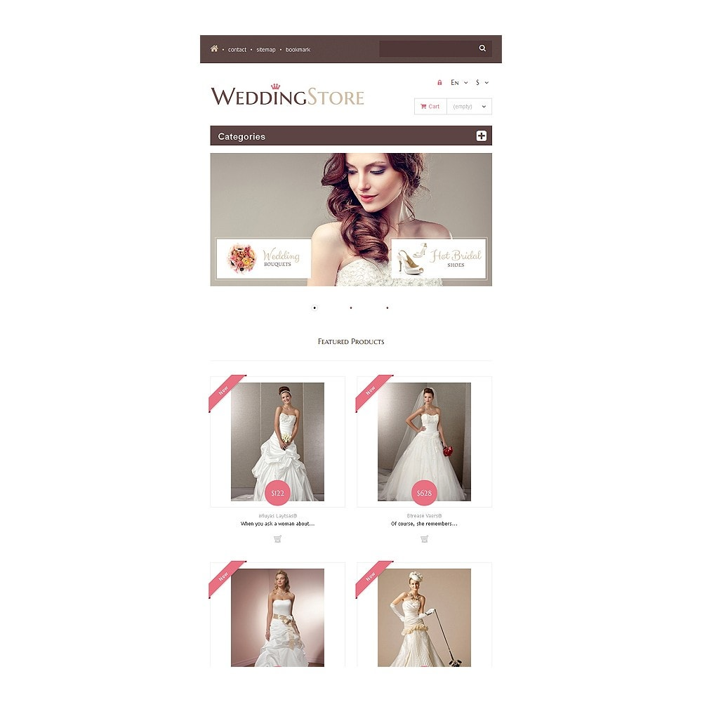 theme - Mode & Chaussures - Wedding Store - 8