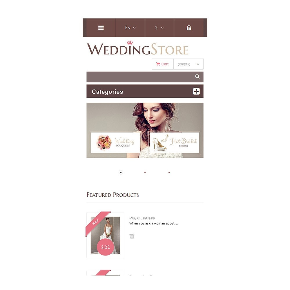 theme - Mode & Chaussures - Wedding Store - 9
