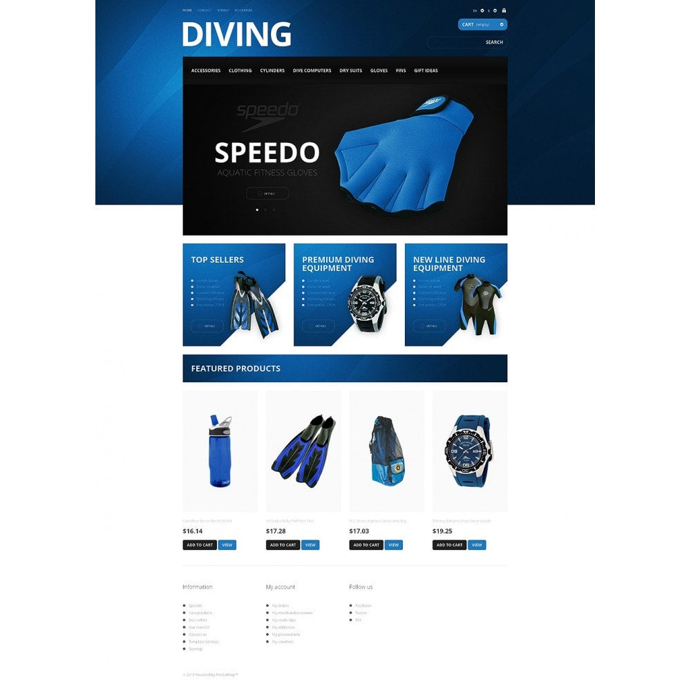 theme - Sport, Loisirs & Voyage - Majestic Diving - 2