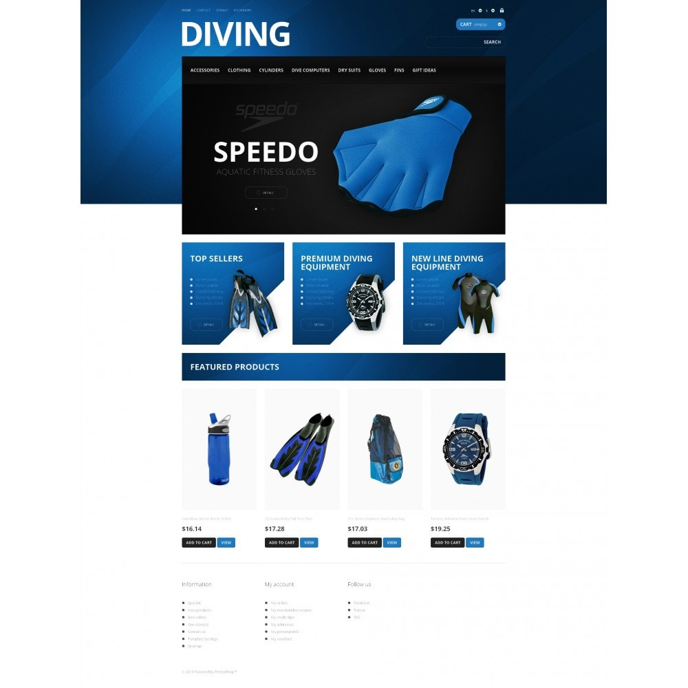 theme - Sport, Loisirs & Voyage - Majestic Diving - 4