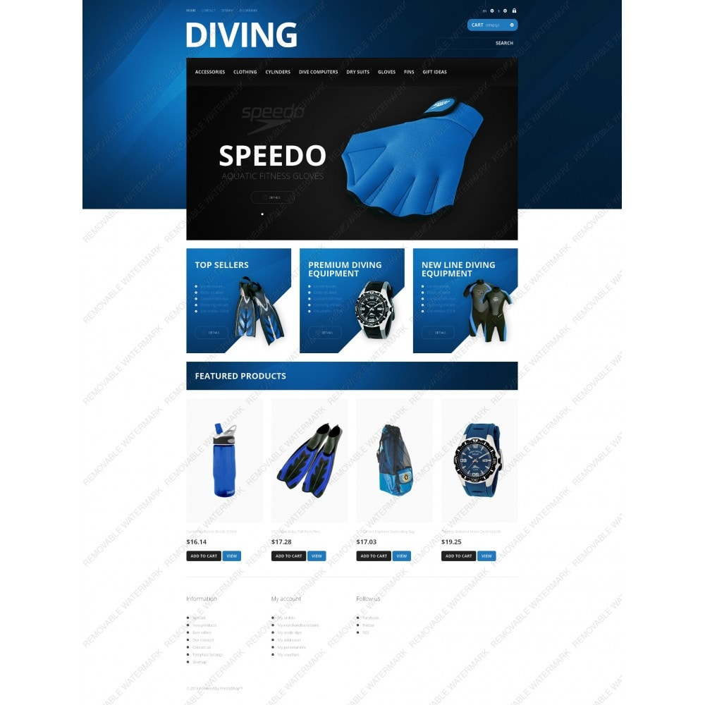 theme - Sport, Loisirs & Voyage - Majestic Diving - 5