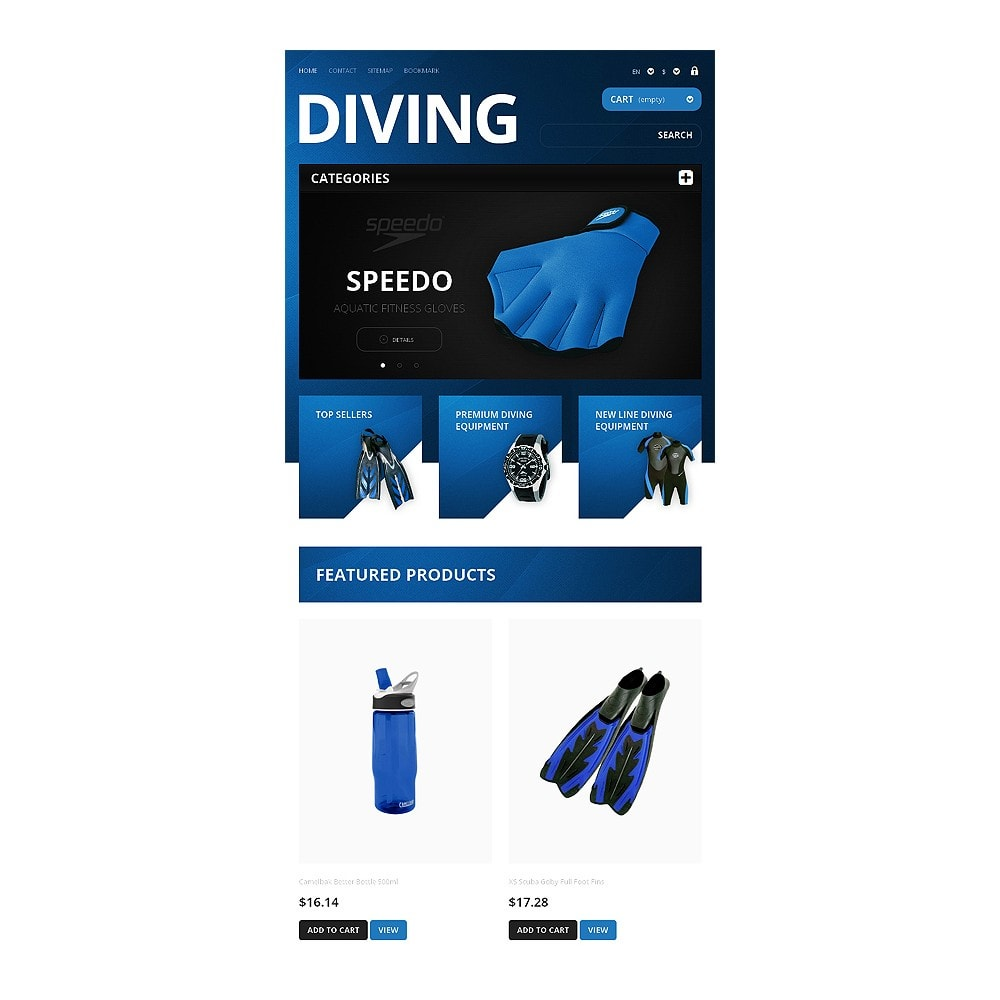 theme - Sport, Loisirs & Voyage - Majestic Diving - 7