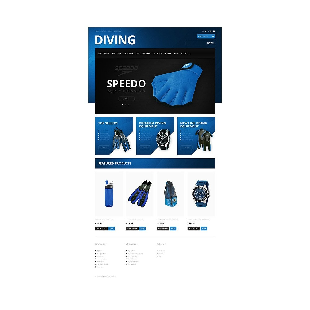 theme - Sport, Loisirs & Voyage - Majestic Diving - 10