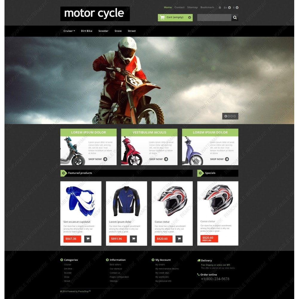 theme - Auto & Moto - Motor Cycle - 5