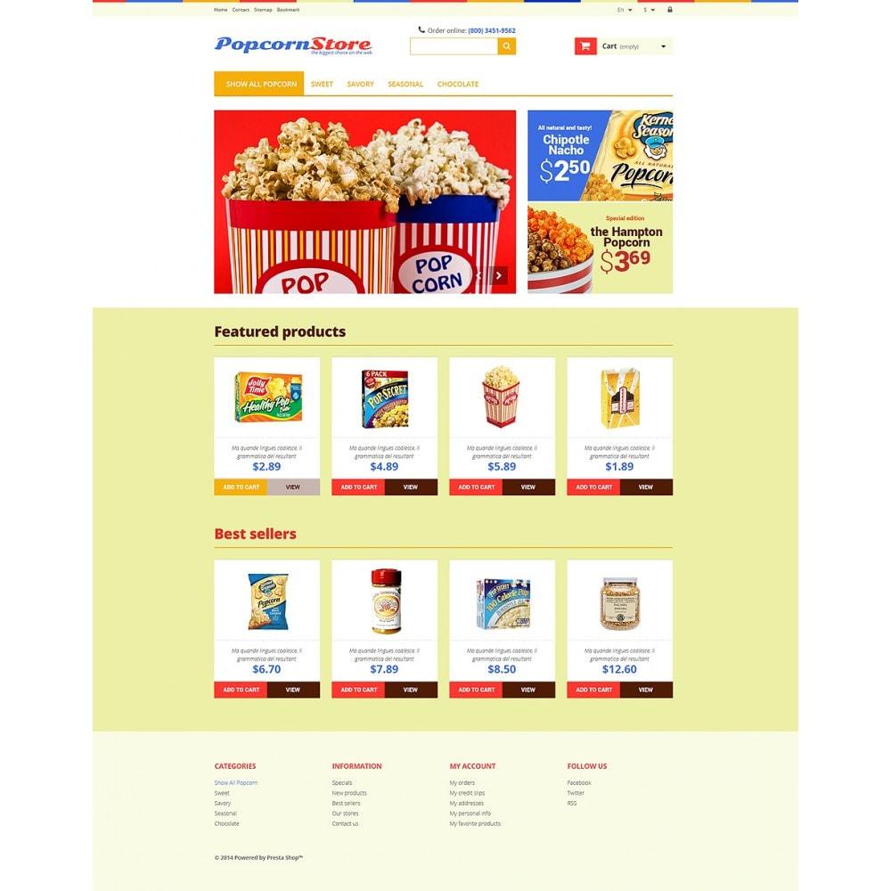 theme - Gastronomía y Restauración - Salt  Sweet Popcorn - 2