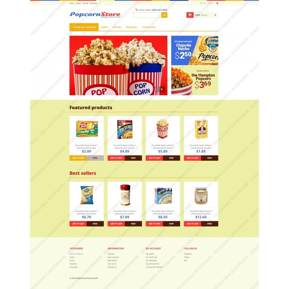 theme - Gastronomía y Restauración - Salt  Sweet Popcorn - 3
