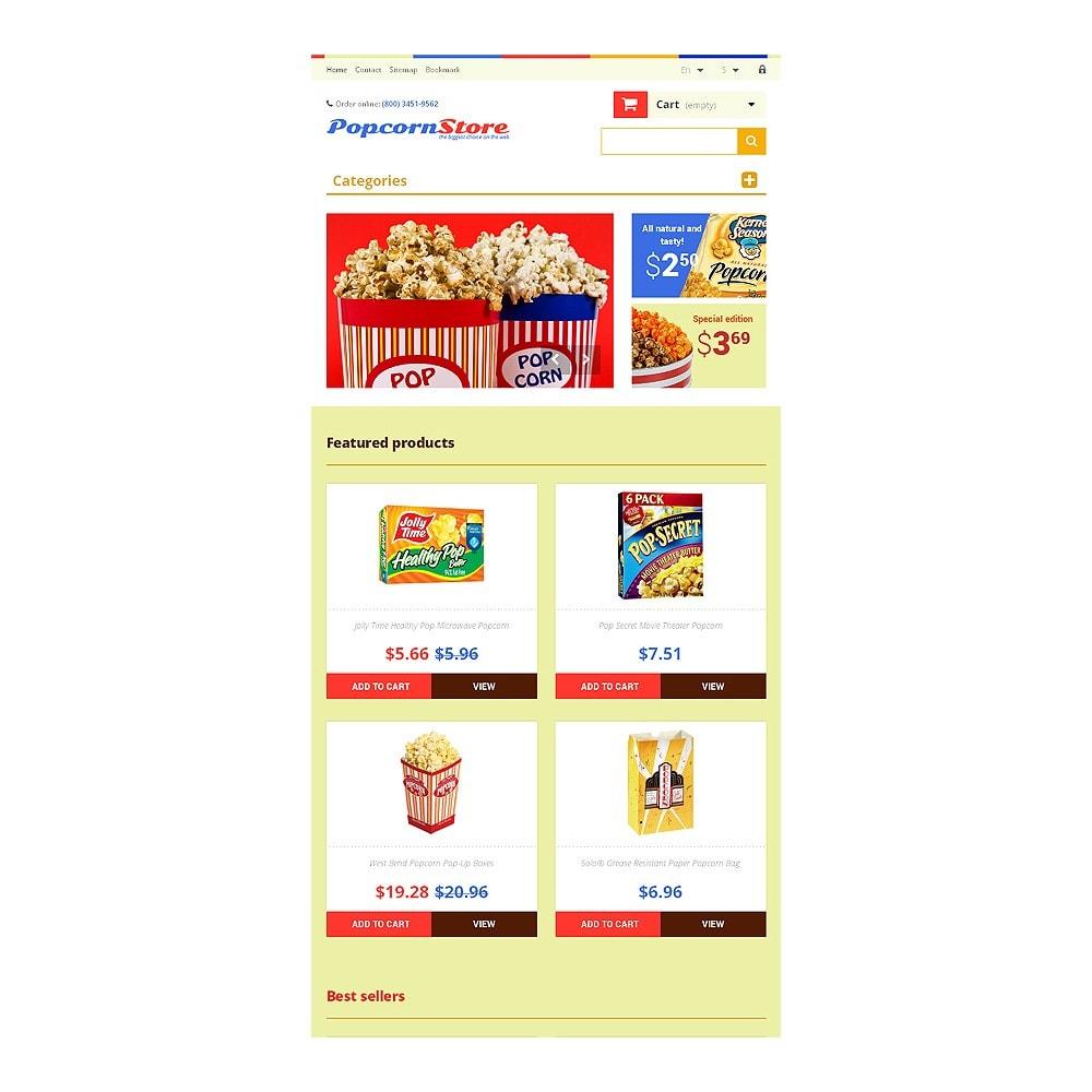theme - Gastronomía y Restauración - Salt  Sweet Popcorn - 7