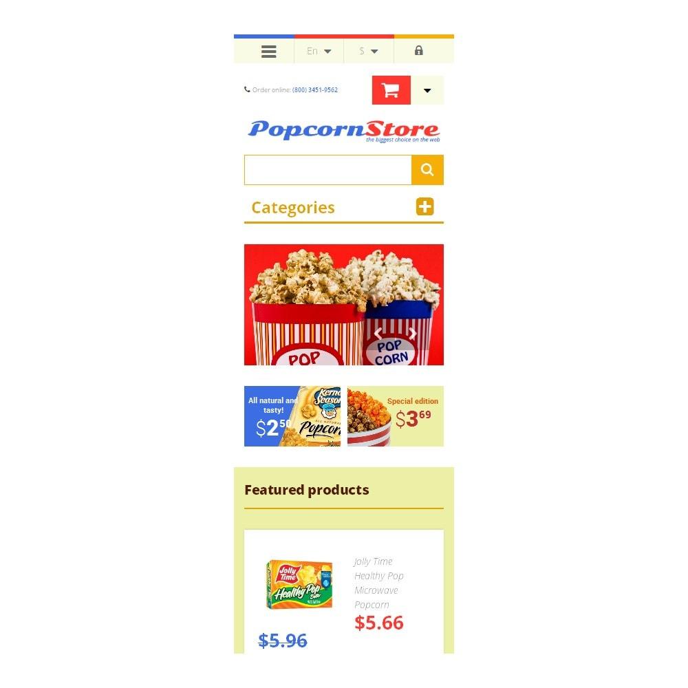theme - Gastronomía y Restauración - Salt  Sweet Popcorn - 9