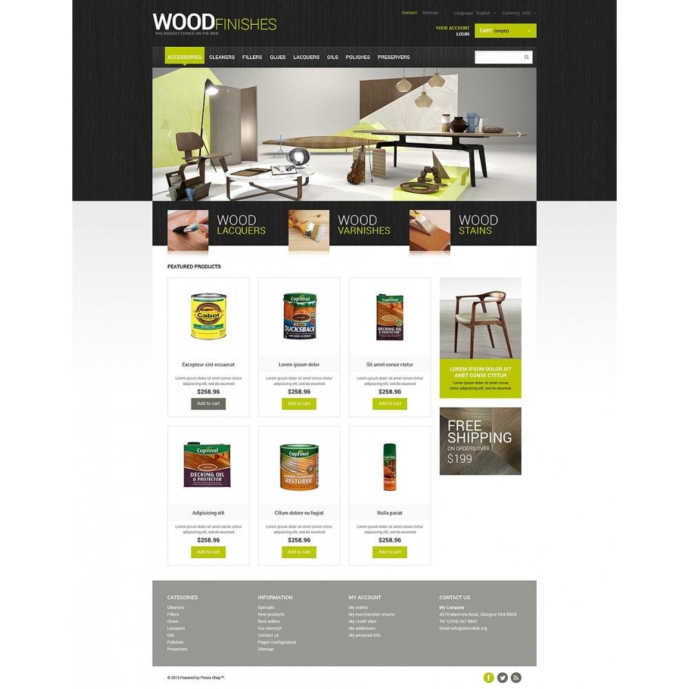 theme - Arte e Cultura - Wood Finishes Store - 2