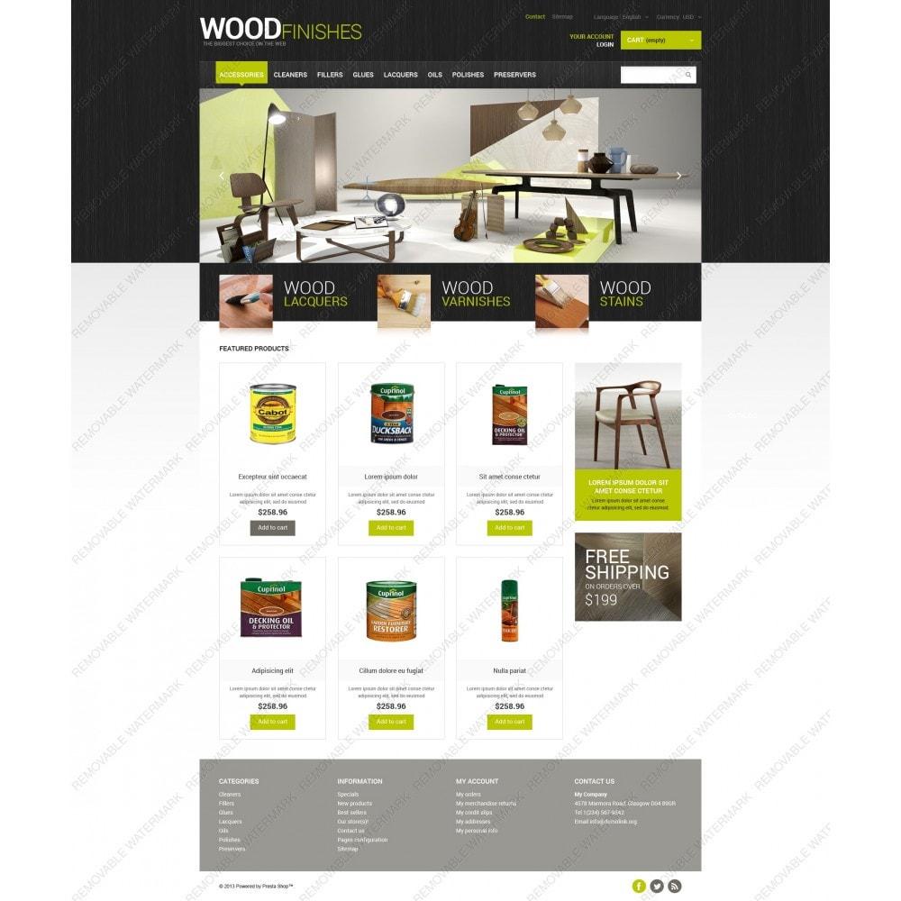 theme - Arte e Cultura - Wood Finishes Store - 5
