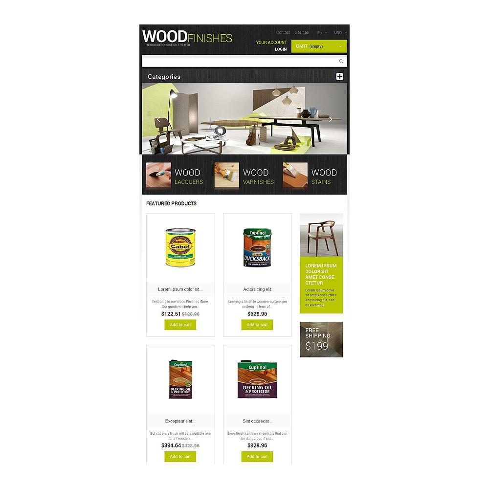 theme - Arte e Cultura - Wood Finishes Store - 7