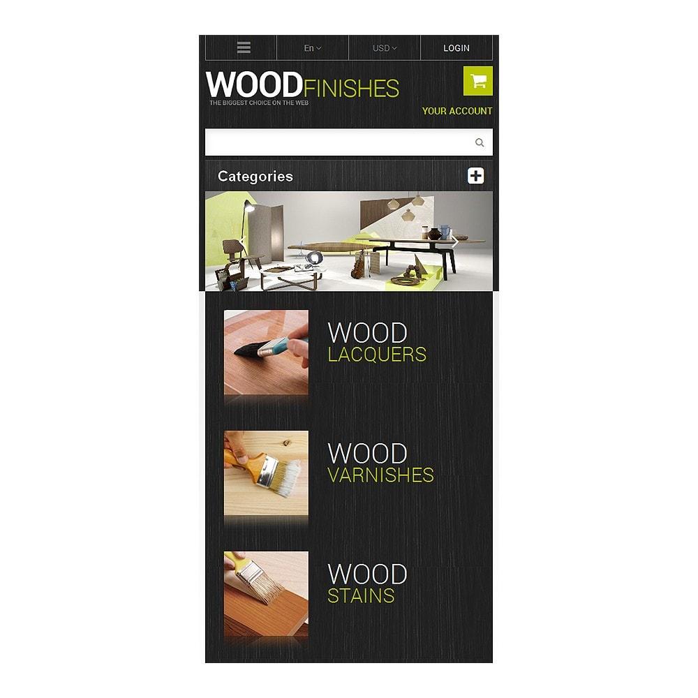 theme - Arte e Cultura - Wood Finishes Store - 8
