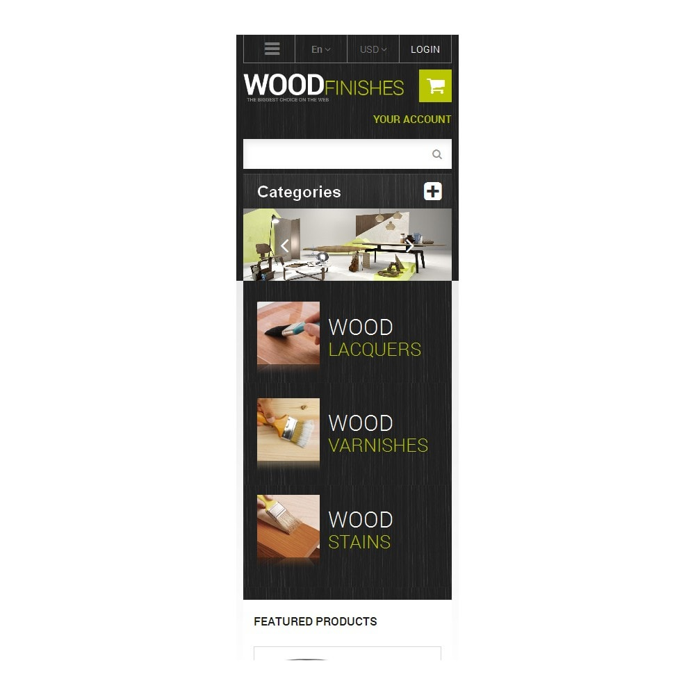 theme - Arte e Cultura - Wood Finishes Store - 9