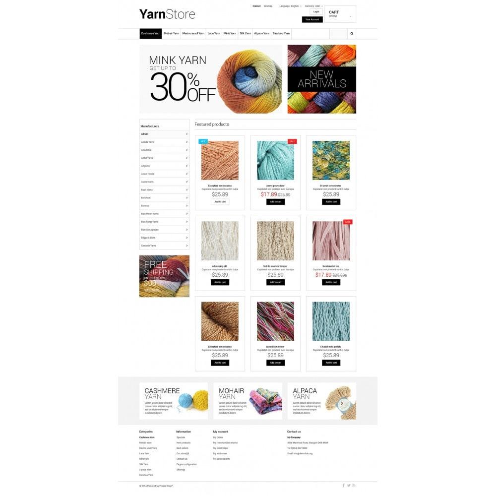 theme - Niños y Juguetes - Yarn Store - 2