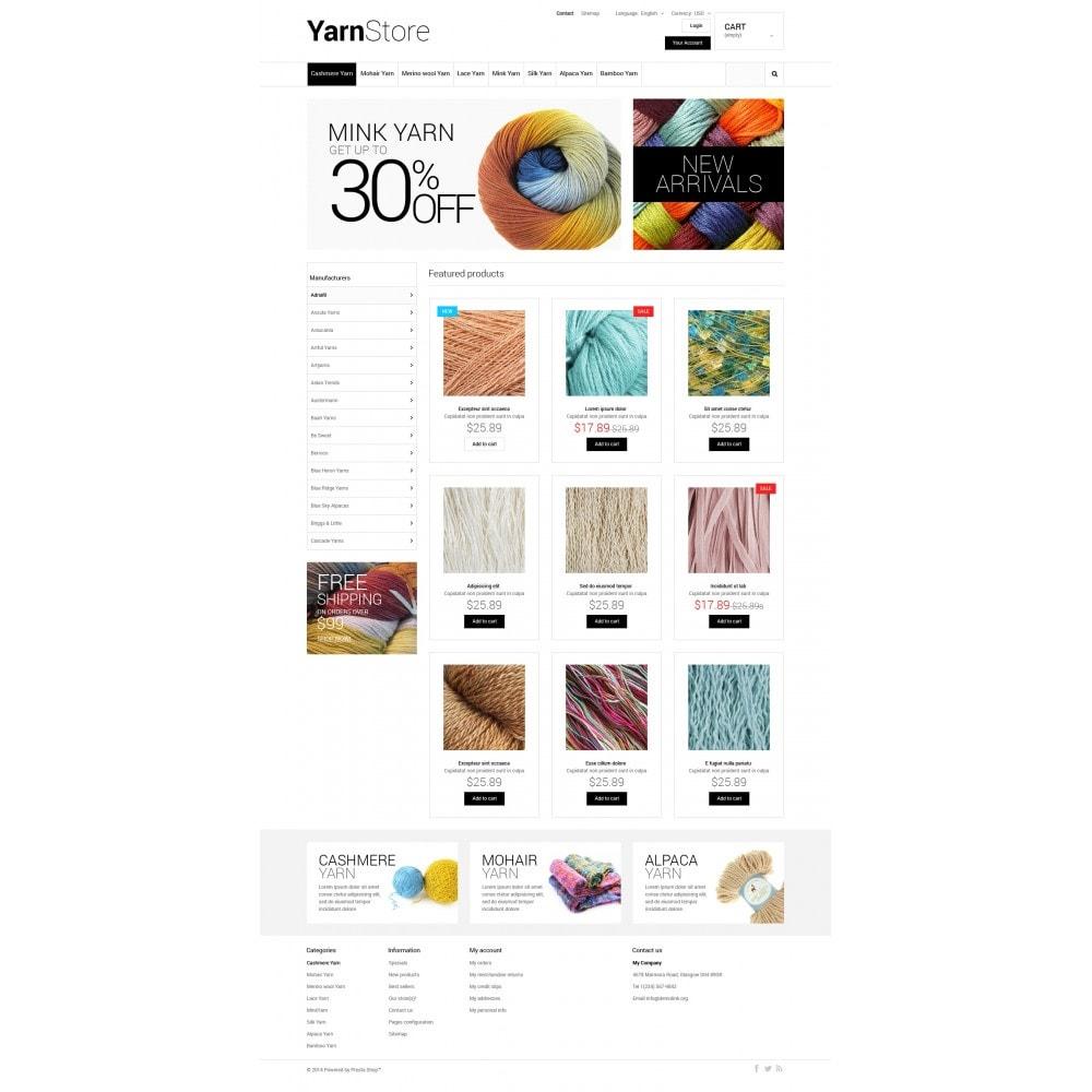 theme - Niños y Juguetes - Yarn Store - 4