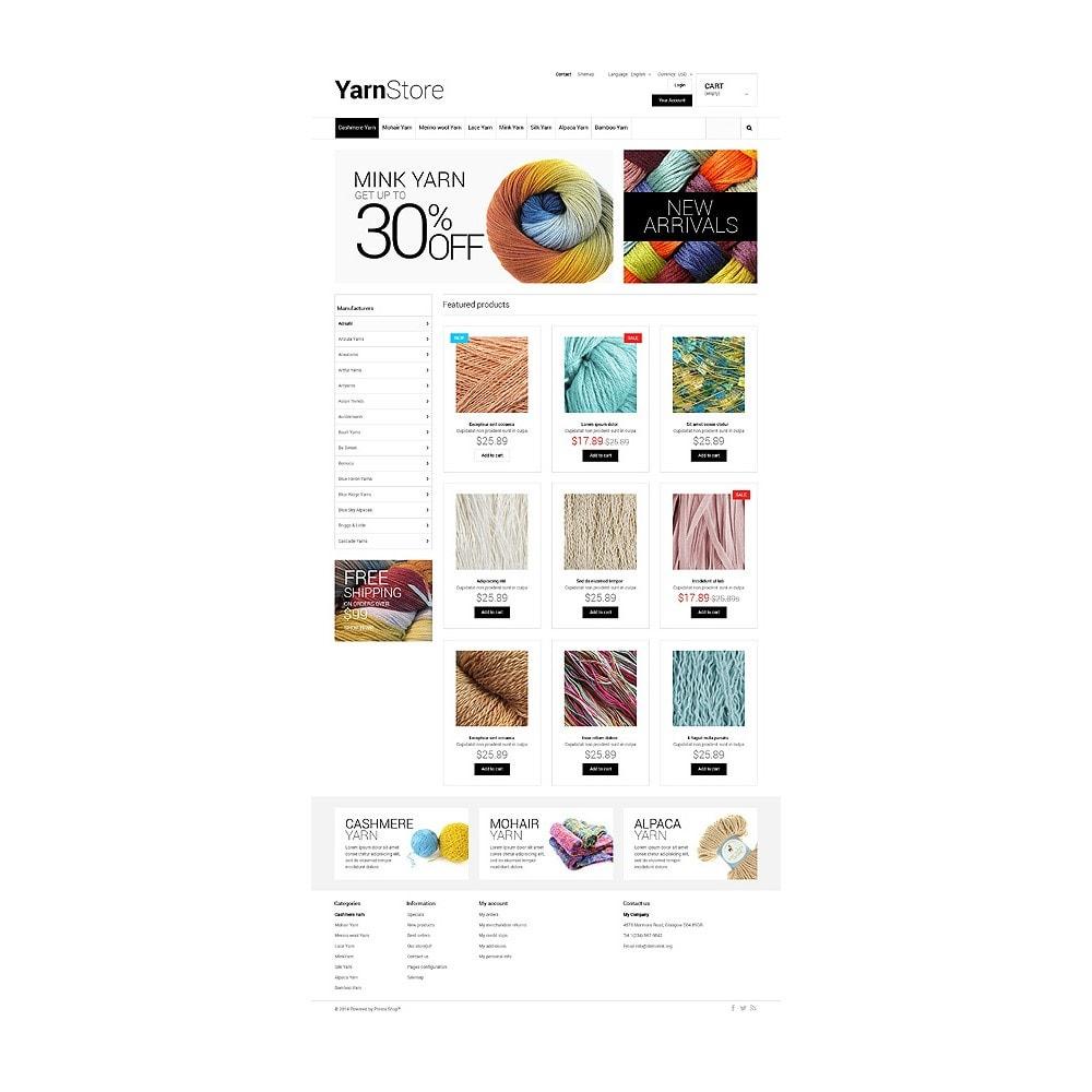 theme - Niños y Juguetes - Yarn Store - 10