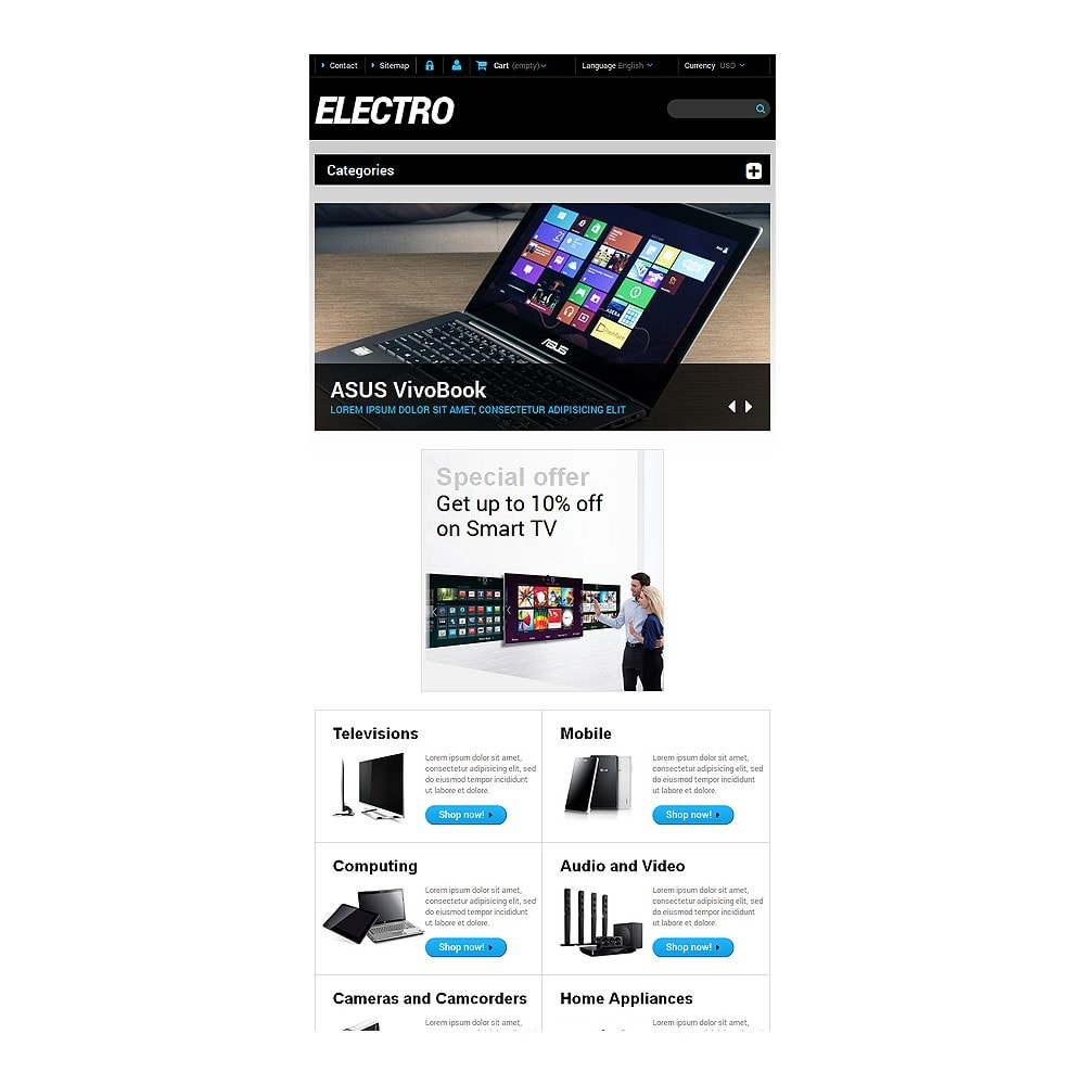 theme - Electronique & High Tech - Home Electronics - 7