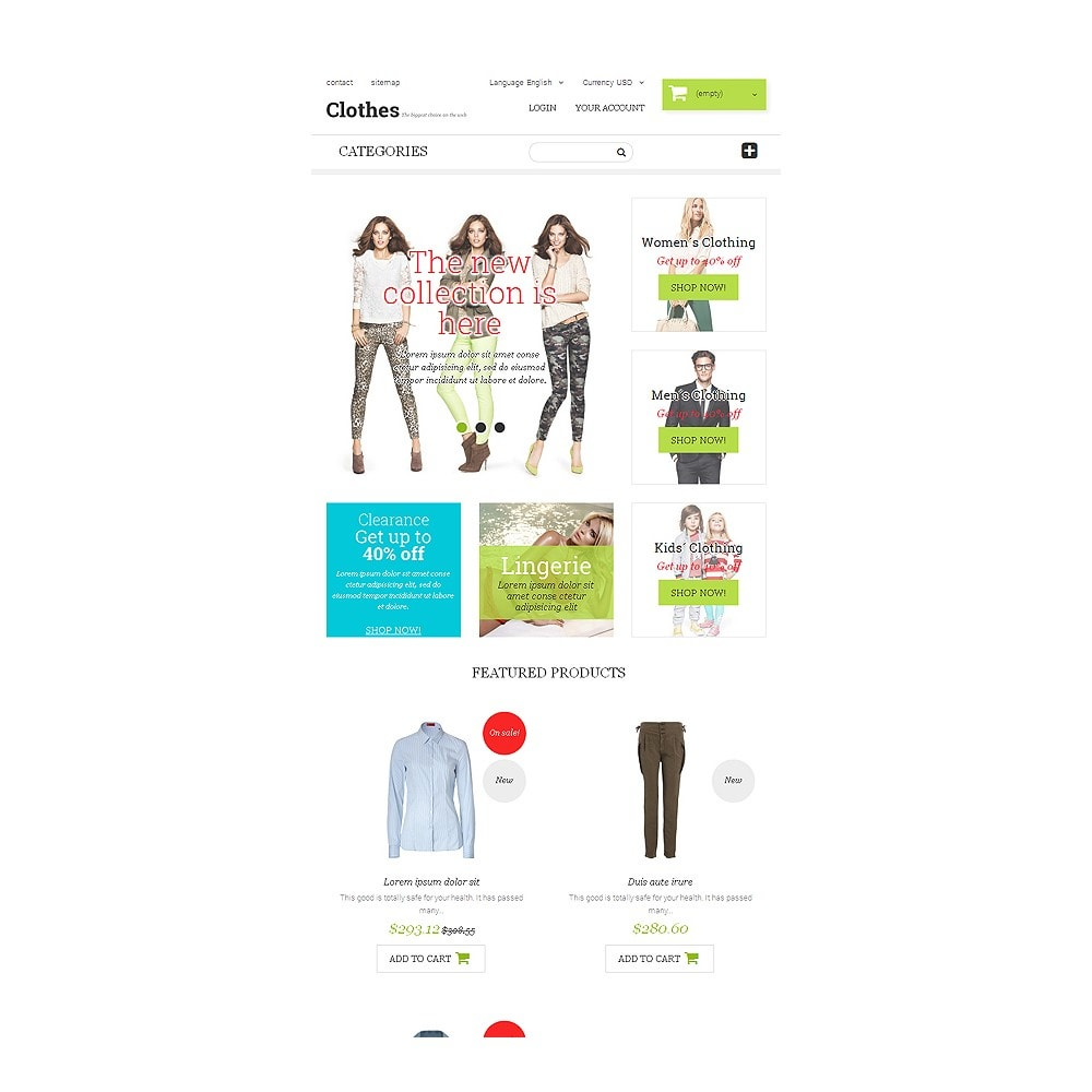 theme - Moda y Calzado - Clothing  Fashion - 7