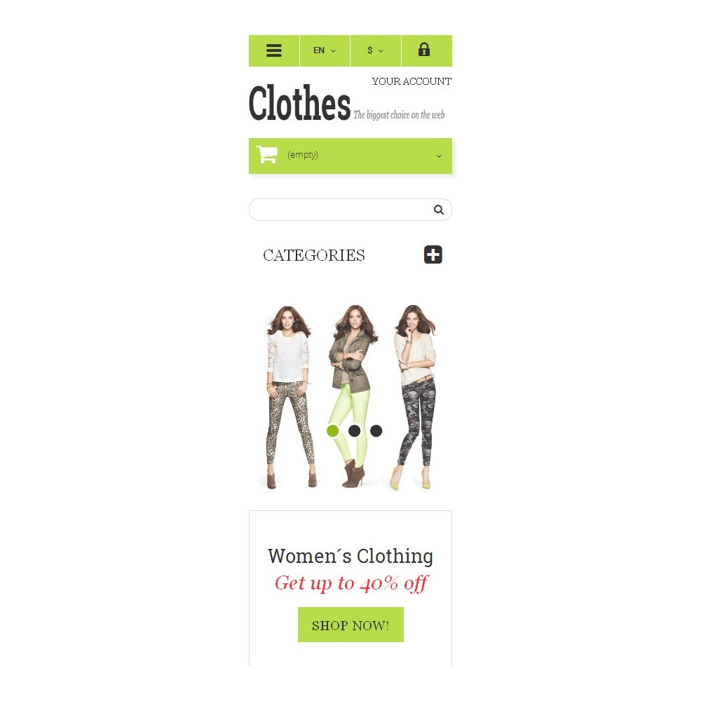 theme - Moda y Calzado - Clothing  Fashion - 9
