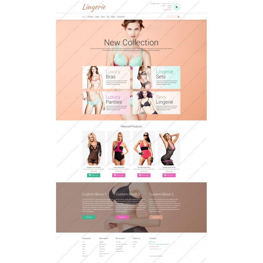 theme - Мода и обувь - Lingerie for Tender Women - 3