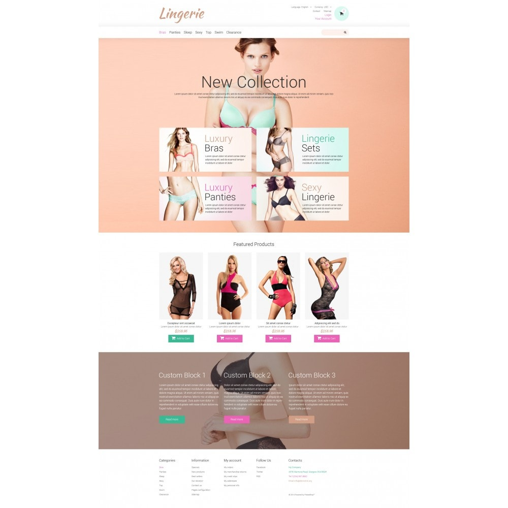 theme - Мода и обувь - Lingerie for Tender Women - 4
