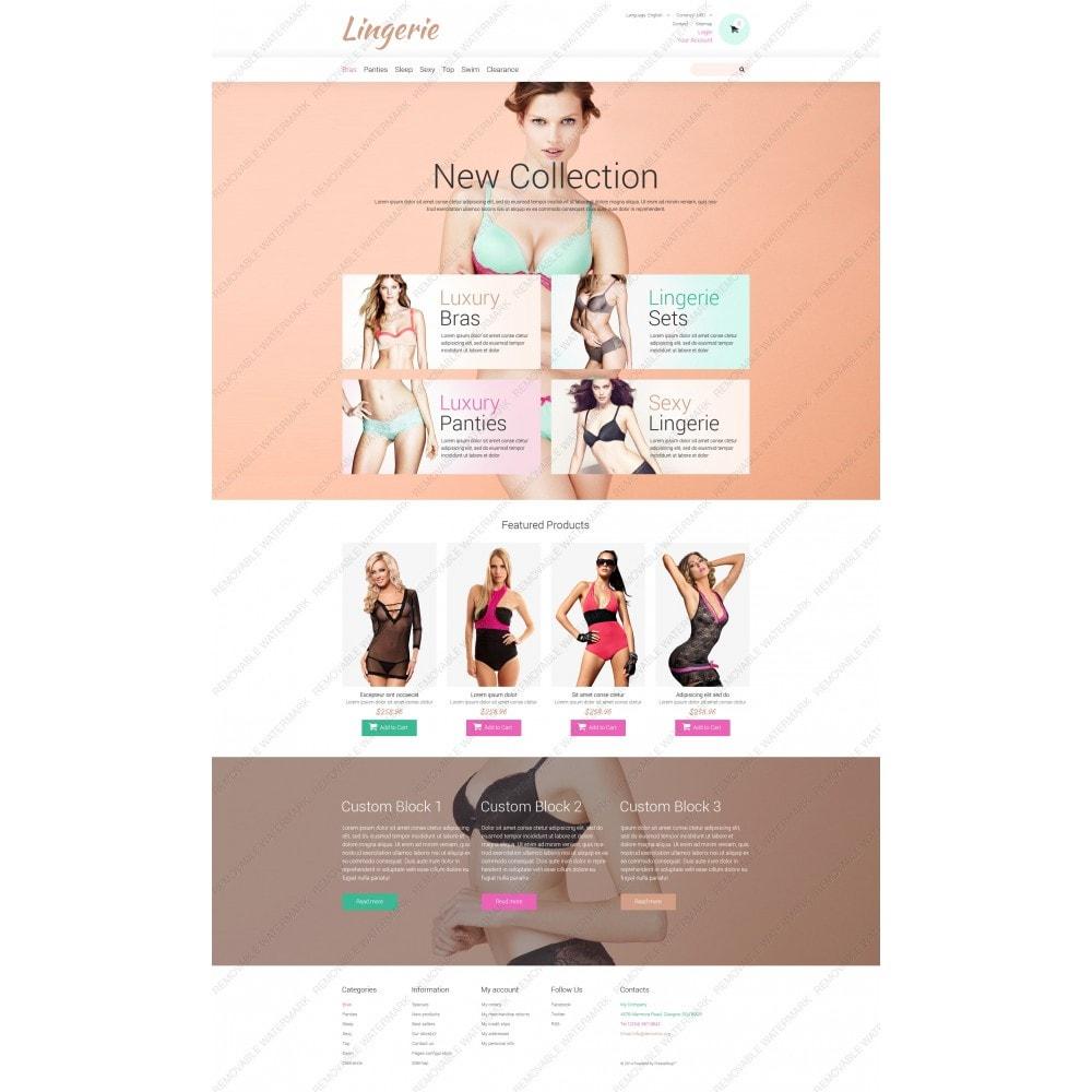 theme - Мода и обувь - Lingerie for Tender Women - 5