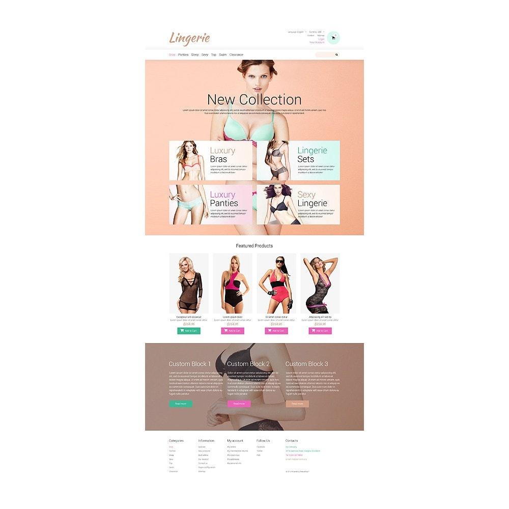 theme - Мода и обувь - Lingerie for Tender Women - 10