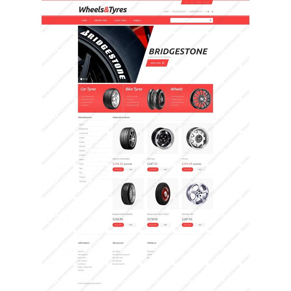 theme - Coches y Motos - Wheels and Tyres - 5