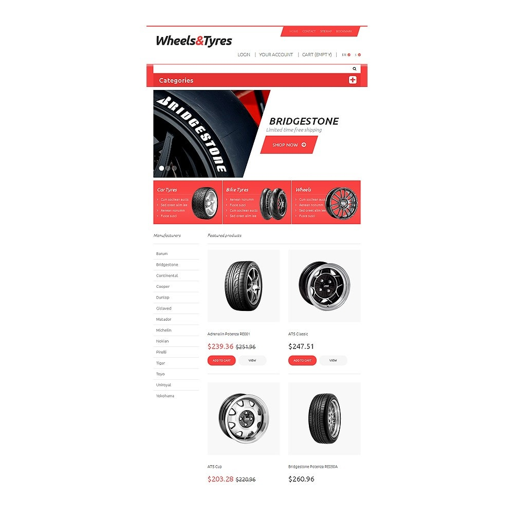 theme - Coches y Motos - Wheels and Tyres - 7