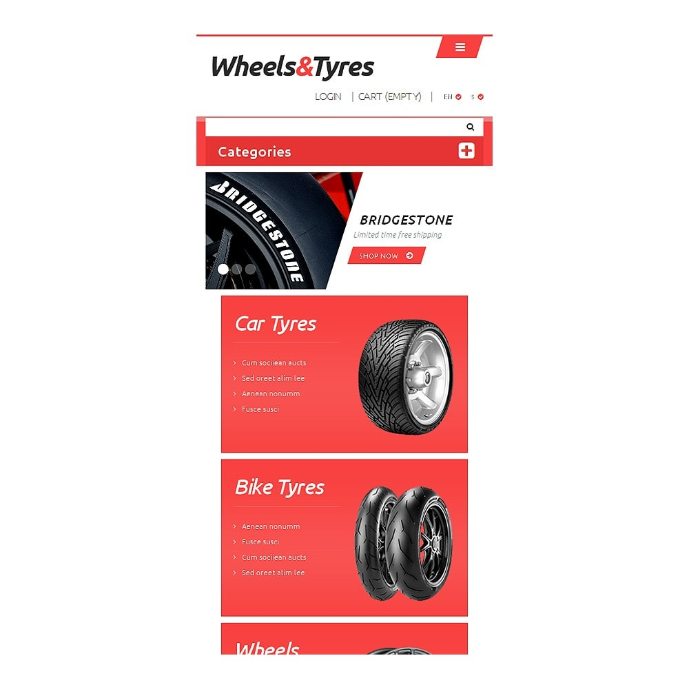 theme - Coches y Motos - Wheels and Tyres - 8