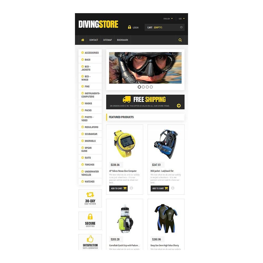 theme - Deportes, Actividades y Viajes - Scuba Diving Equipment - 7