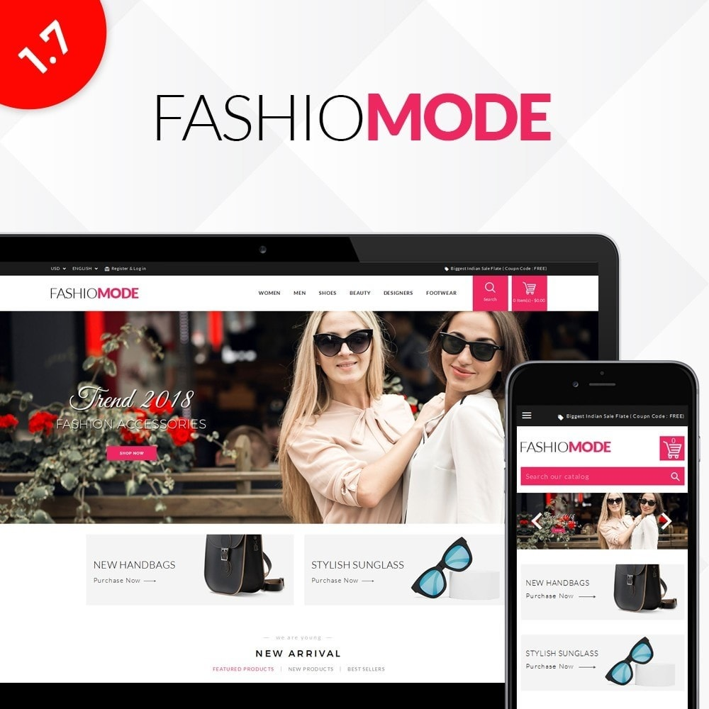 theme - Mode & Chaussures - Fashionmode Store - 1