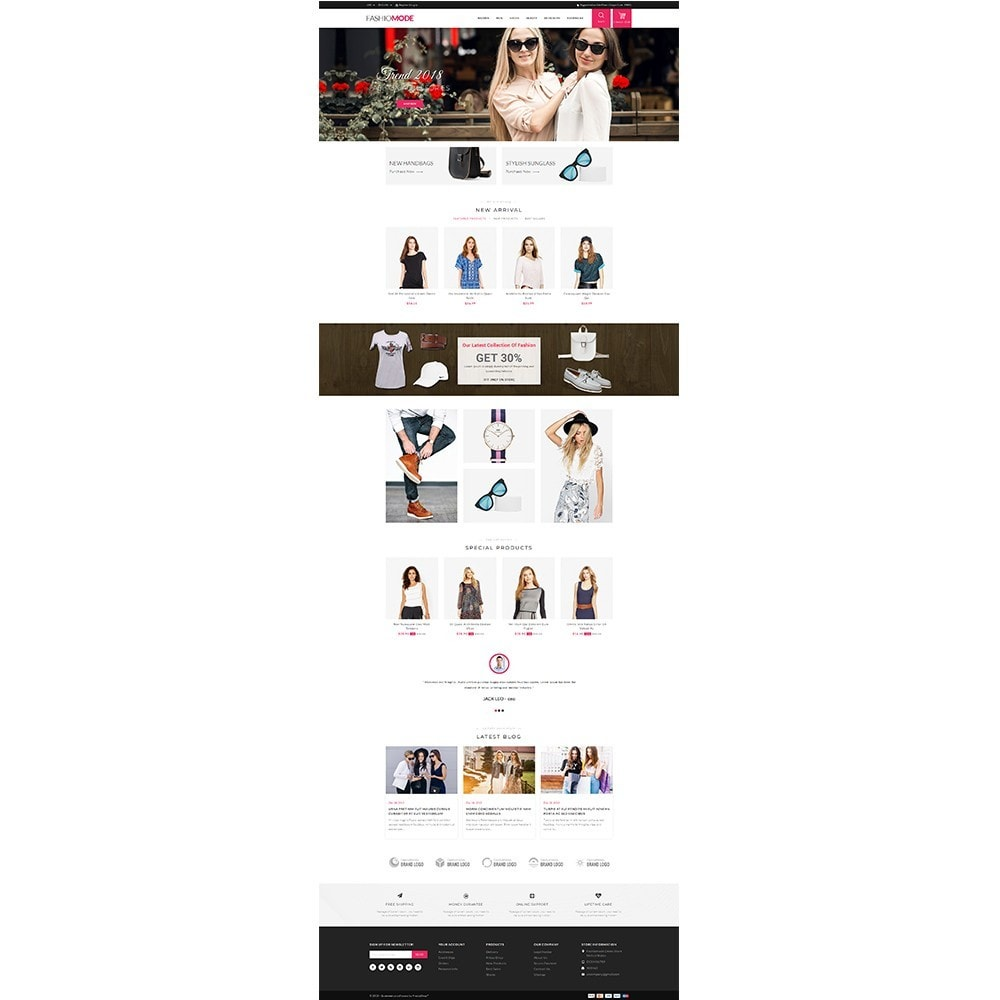 theme - Mode & Chaussures - Fashionmode Store - 2