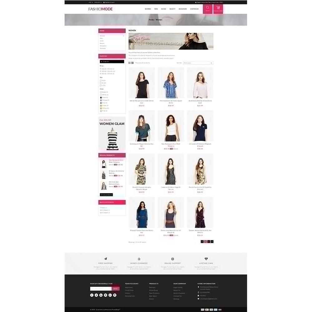 theme - Fashion & Shoes - Fashionmode Store - 3