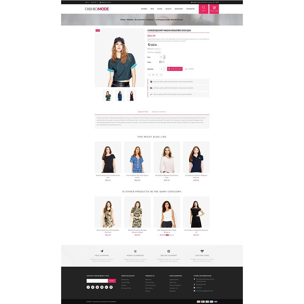 theme - Fashion & Shoes - Fashionmode Store - 5