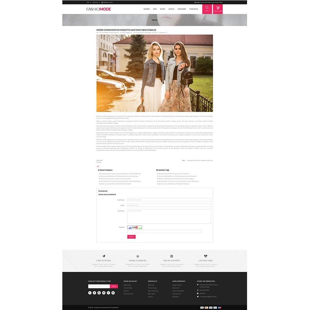 theme - Fashion & Shoes - Fashionmode Store - 6