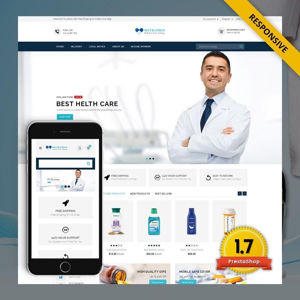 theme - Santé & Beauté - Metromed - The Medicine Shop - 1