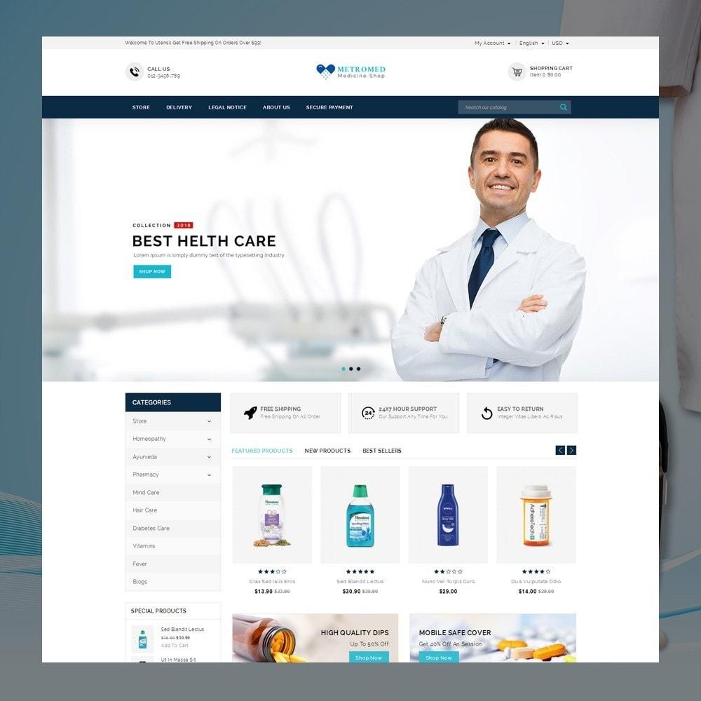 theme - Santé & Beauté - Metromed - The Medicine Shop - 2