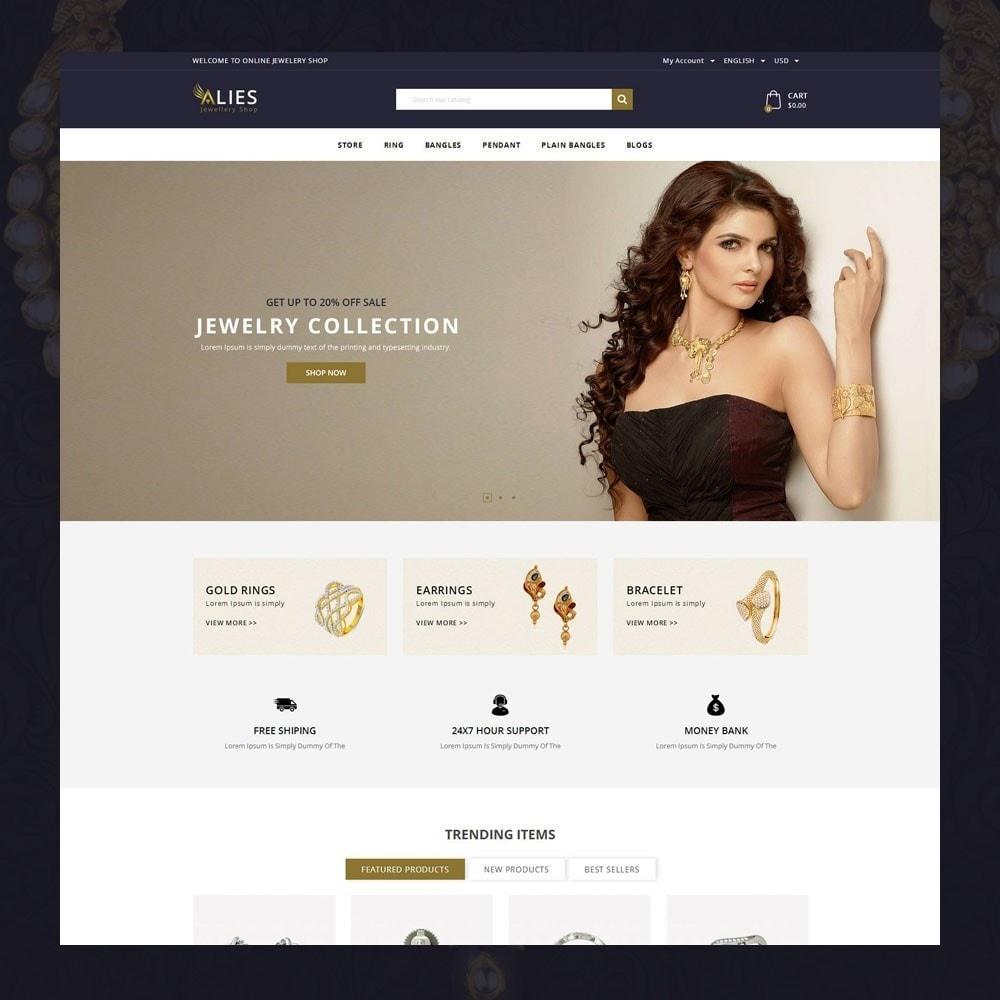 theme - Biżuteria & Akcesoria - Alies- Jewellery Store - 2