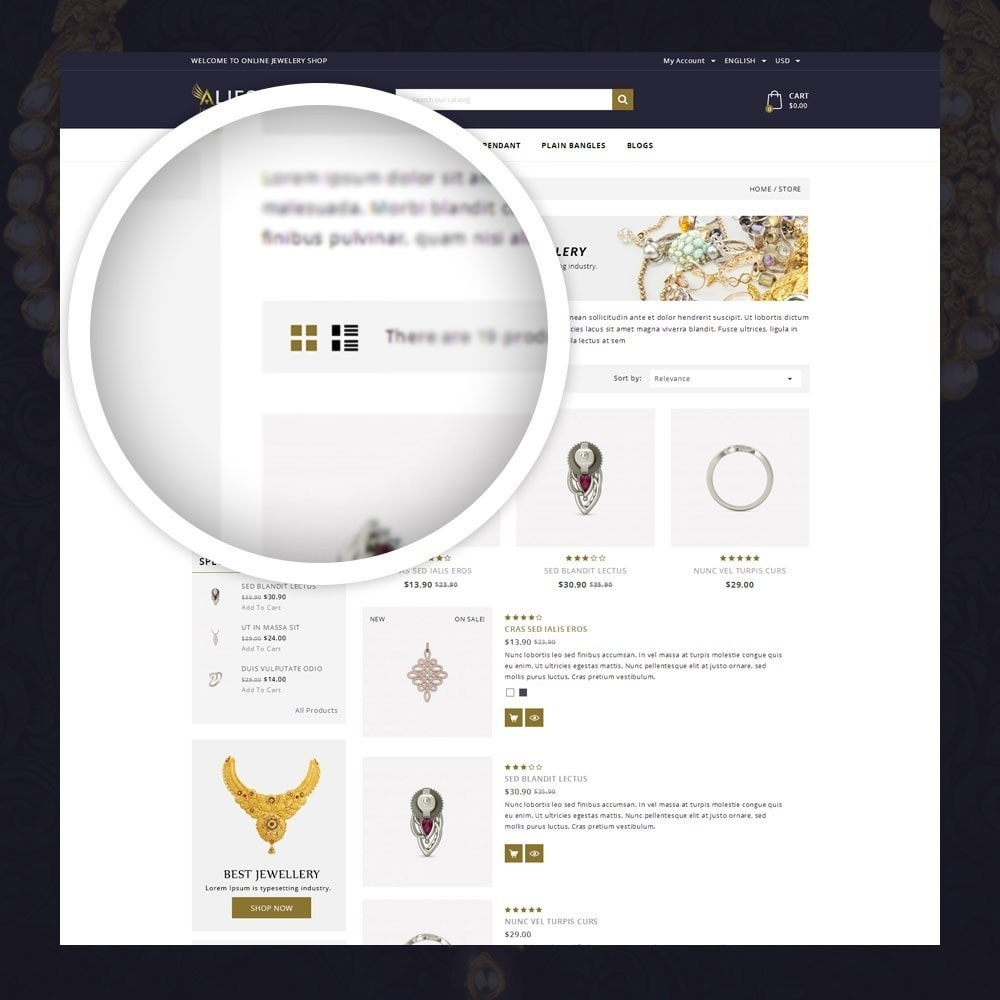 theme - Biżuteria & Akcesoria - Alies- Jewellery Store - 3