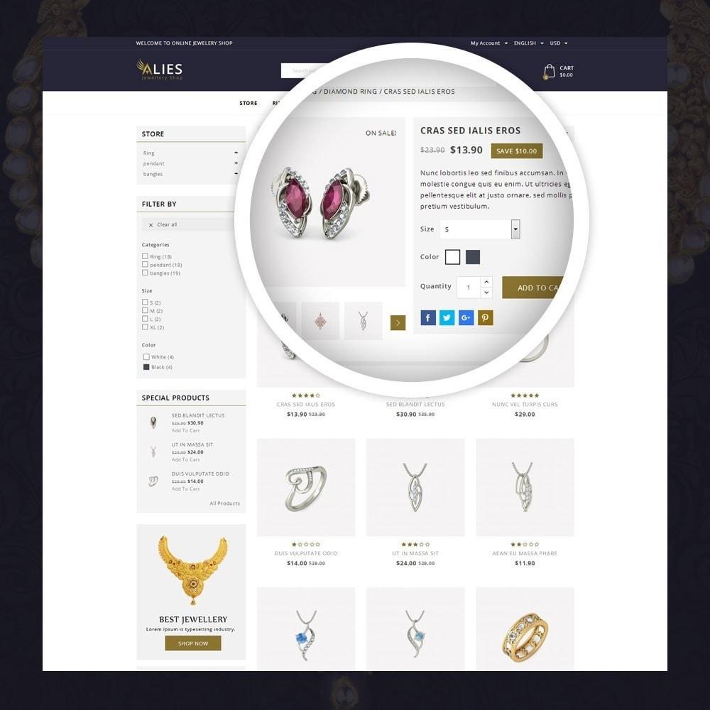 theme - Biżuteria & Akcesoria - Alies- Jewellery Store - 4