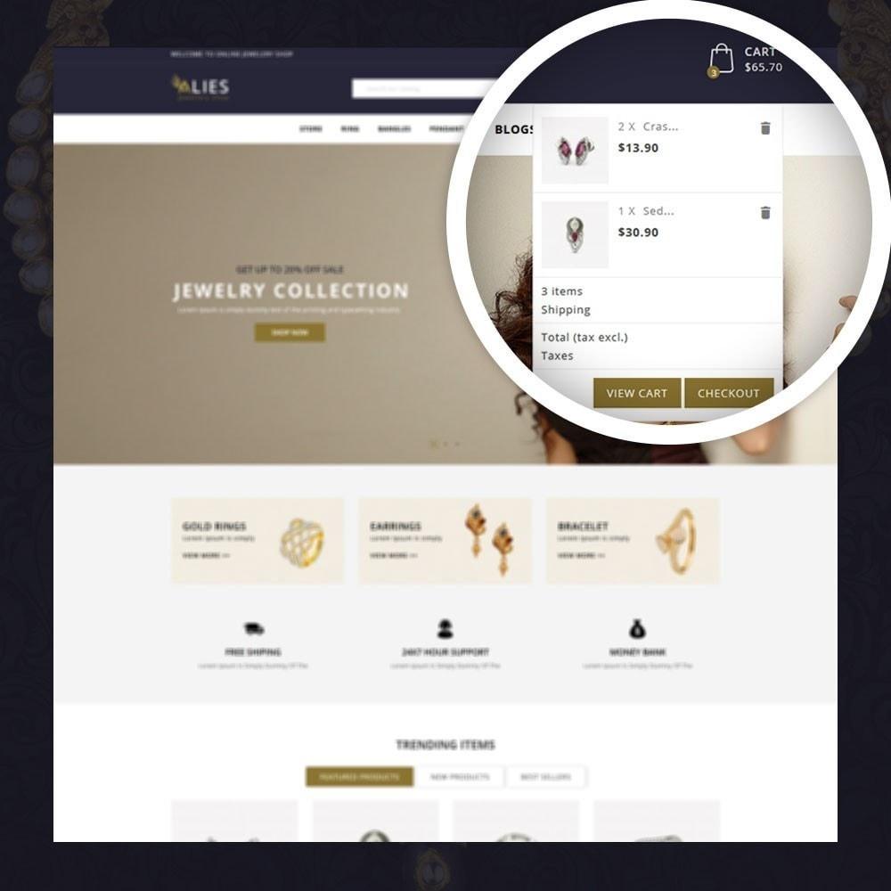 theme - Biżuteria & Akcesoria - Alies- Jewellery Store - 6