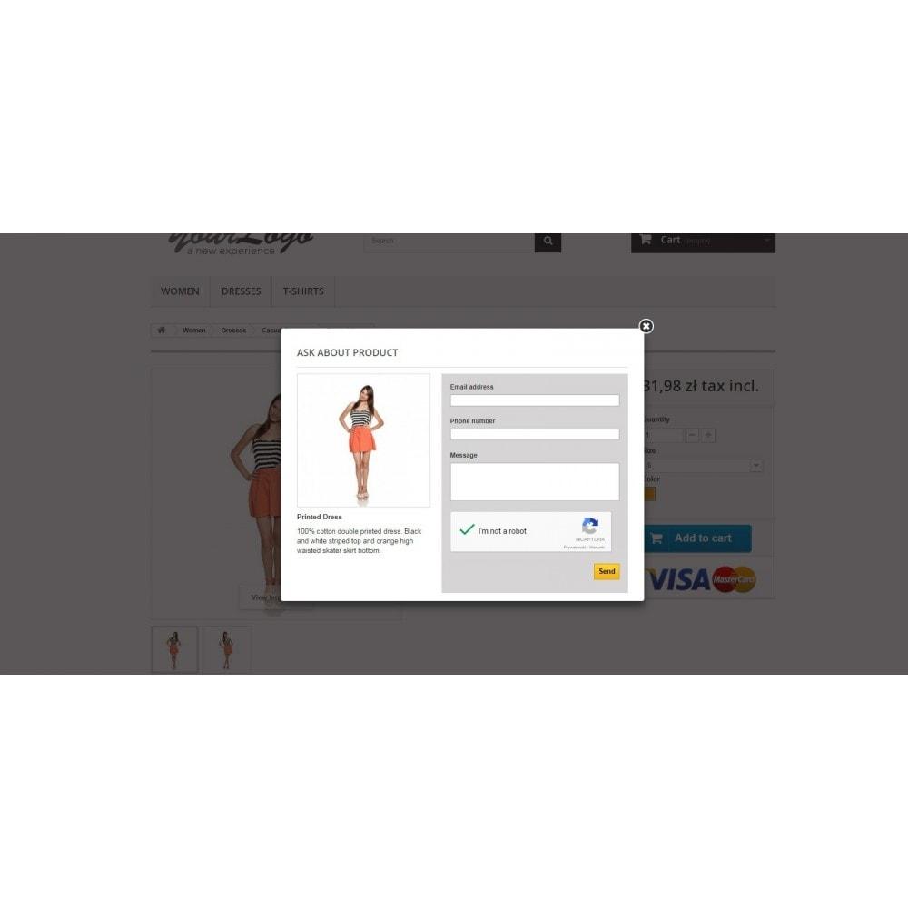 module - Formulaires de Contact & Sondages - Ask about product - contact form - 1