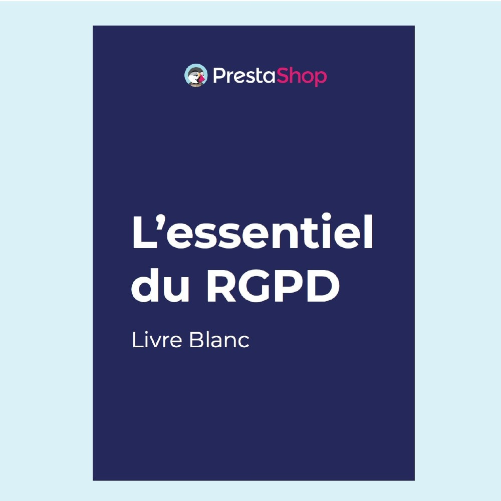 other - Modules gratuits PrestaShop - Livre blanc RGPD - 1